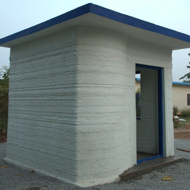 Completion of 3D Printed House